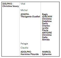 Dolphis genealogy