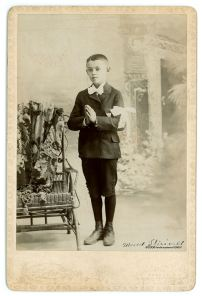 Marcel at the age of 7 for his First Communion in 1892.